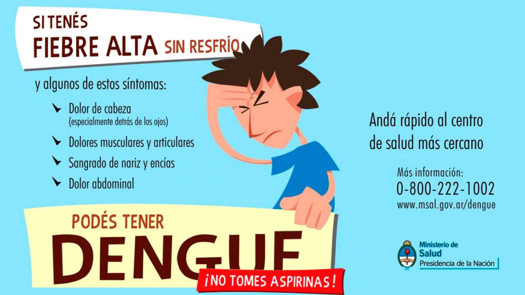¿Qué es el Dengue y cuáles son sus síntomas?